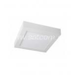 LED downlight 20W, 3000K, 1.500lm, square shape, surface mount