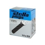 Ankur must 18-30mm plaadile, 10x59mm, PZ2 Tillex 4tk pakendis
