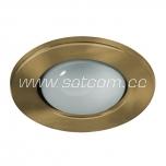 Halogen downlight R63 antique gold (R-63S)