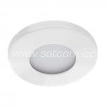 Halogen downlight IP44 white (L-300)