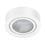 Furniture light surface mount white