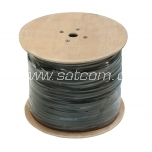 Cable RG 11 air-cable with steel wire