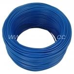 Elektrijuhe 2,5mm² sinine H07V-K Lietkabelis 100 m