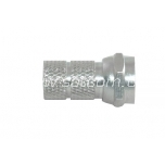 F connector 6,5 mm 2 pc packaged