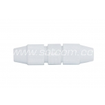 Coaxial cable extension piece plactic packaged