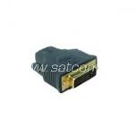 HDMI female - DVI male adapter