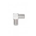 F female - IEC male 90° angle packaged