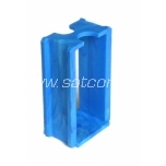 Connector for blue switch box, 960º C, halogen free, blue