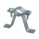 Wall mount 7,5 cm with clamp
