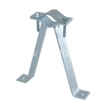 Wall mount 15 cm with clamp
