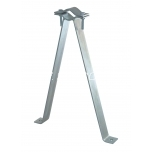 Wall mount 60 cm with clamp