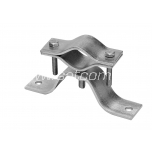 Eaves mount turnable 2 holes