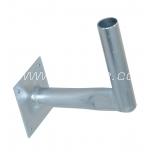 Wall mount L 15 cm (Ø30mm pipe)