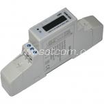 Elektriarvesti 1 faas, DIN liistule, LCD displei