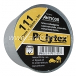 Polytex duct tape 9m, silver