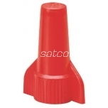 Twist-on connector red 2x2-4x5,25mm² (100 pc bag)