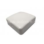 Pindpaigaldatav harukarp IP20 80x80x29 mm valge