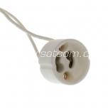 Lamp holder ceramic GU10