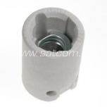 Lamp holder ceramic E14