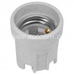 Lamp holder ceramic E27