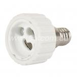 Lamp holder adapter E14-GU10 packaged