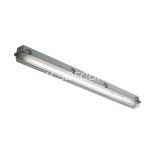 Fluorescent fixture 1x36W IP65 electronic ballast