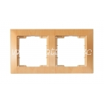 Frame double Candela beech packaged