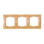 Frame triple Candela beech packaged