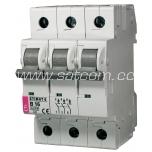 ETI Miniature circuit breaker 3P B 16A 6kA
