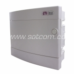 ETI Fuse-box flush-mount for 12 modules