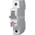 ETI Miniature circuit breaker 1P C 6A 6kA