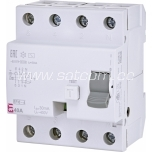 ETI Residual current circuit breaker 3P 4M 40A/30mA 6kA