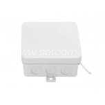 Junction box IP54 85x85x37 mm white
