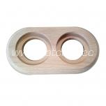 Raam 2-ne puidust keraamilistele pinnapealsetele pakendis