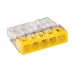 WAGO kiirklemm 5 x 0,5-2,5mm² 100tk