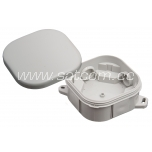 Pindpaigaldatav harukarp IP54 90x90x40 mm, hall