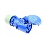 Socket for cable 16A 3P 230V IP44