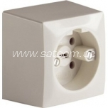 Surface mount socket Perilex 16A 400V