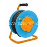 Cable on reel 25m, rubber cable 3x2,5mm²