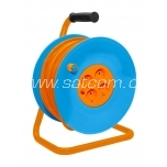 Extension cord on plastic-metal reel 40 m, 3G1,5mm² 16A