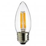 LED filament lamp C35 4W E27 - 420lm