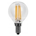LED filament lamp G45 4W E14 - 420lm