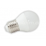 LED lamp G45 E27 6W 480lm