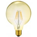 LED filament G95 8W E27 806lm
