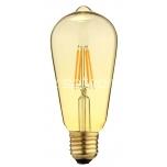 LED filament ST64 4W 420lm