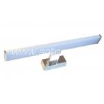 Peegli valgusti LED 8W, kroom, IP44, 40cm