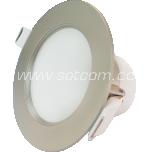 LED allvalgusti IP44 8w kroom