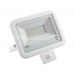 LED prozektor liikumisanduriga valge 50W, 4000K