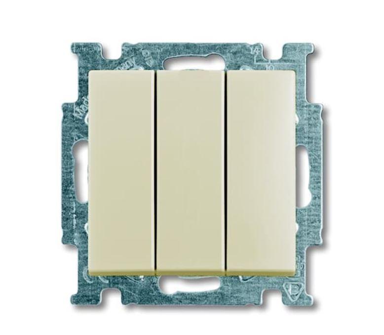 ABB Basic55 beež lüliti 3-ne pakendis